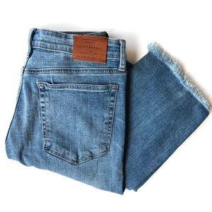 Lucky Brand Ava Straight Fringe Jeans